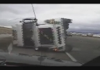 Semi falls on cruiser Wyoming Highway Patrol 3.jpg