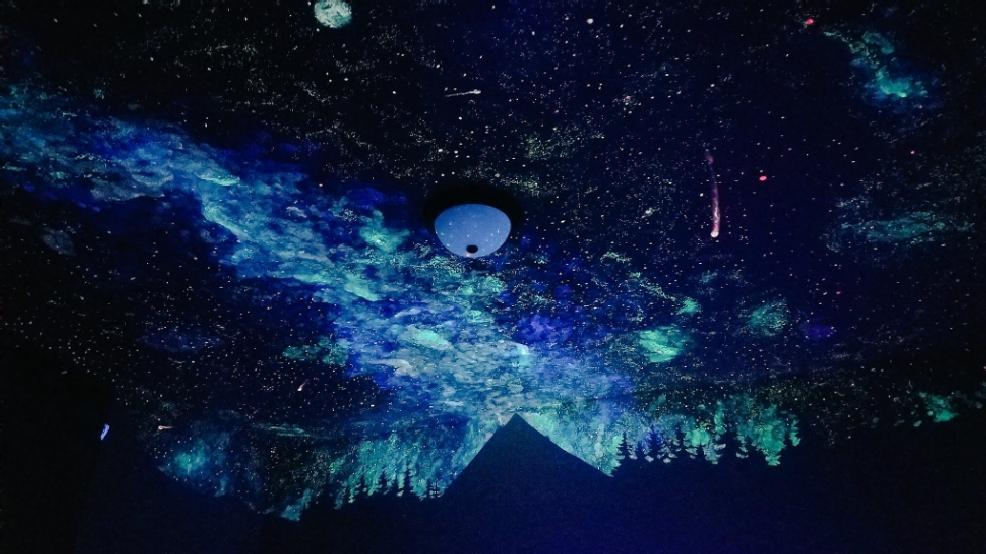 hood river woman s stunning galaxy ceiling paintings bring comfort