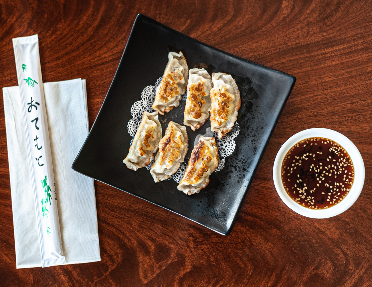 Gyoza with dipping sauce / Image: Kellie Coleman // Published: 12.29.20<p></p>