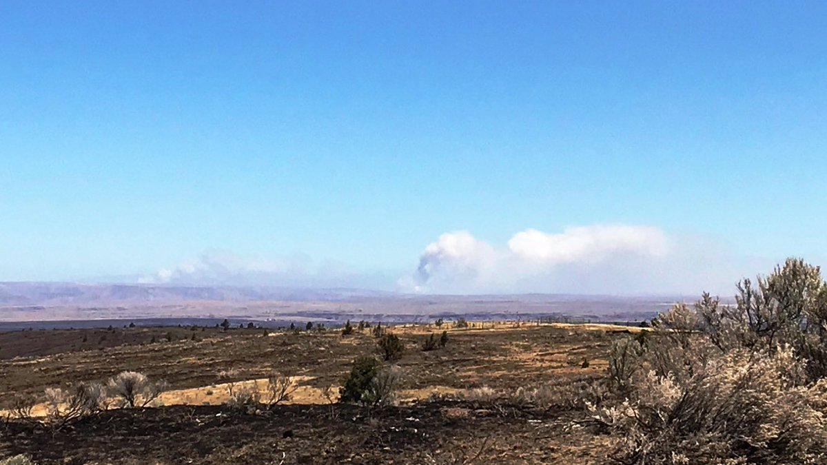 Substation Fire - Photo from Central Oregon Fire
