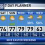 The Weather Authority | Very Nice Easter Weekend Ahead