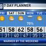 The Weather Authority | Slow Warming Trend Begins Later Today