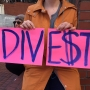 Hundreds gather downtown for #DivestPDX protest