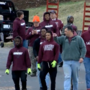Amherst County football players help clean up their community after tornado