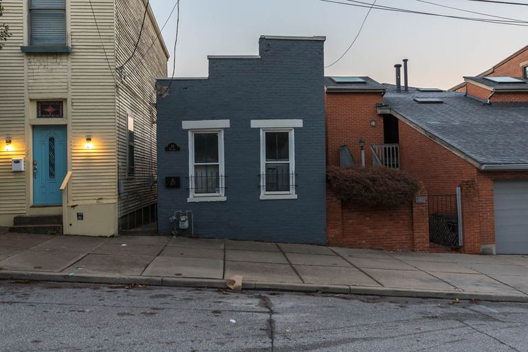 Tiny buildings are all around Cincinnati. The trick is finding them amid the hulking skyscrapers and high-rises in the area. Here's a sampling. ADDRESS: 38 Mulberry Street / Image: Mike Menke // Published: 11.6.17