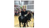 Photos: Idaho State Police, local law enforcement 'get a kick' out of donkey basketball