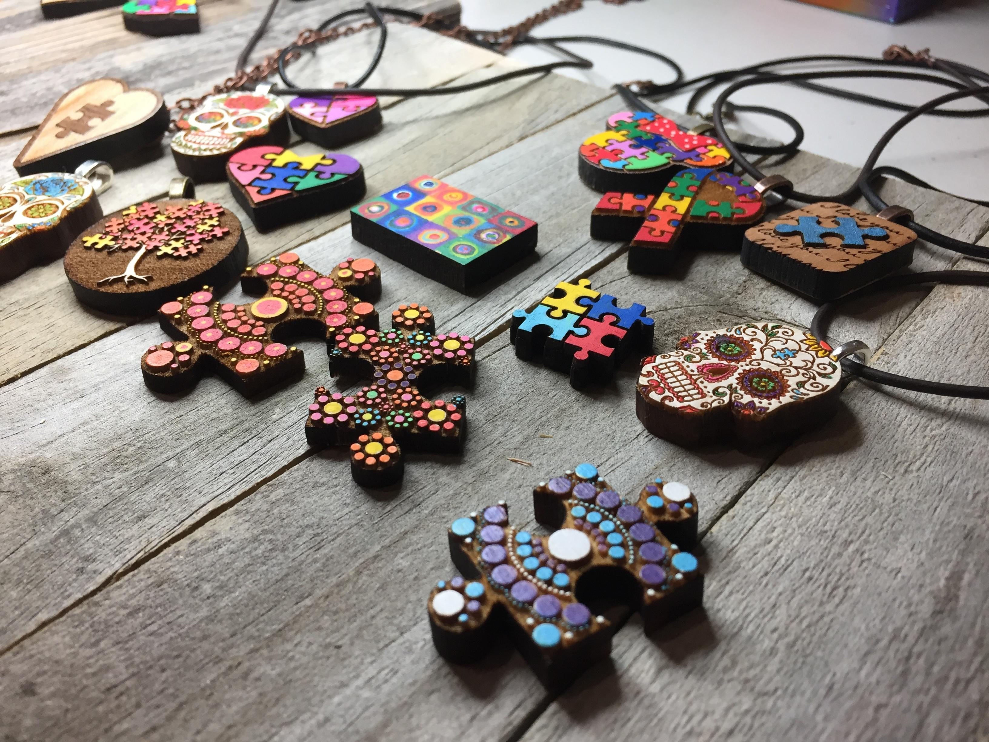 Chris Raley began his Autism-inspired jewelry line, CR9Designs as a way to promote a discussion about Autism. His son, Matthew, has Autism and is on the severe end of the spectrum.