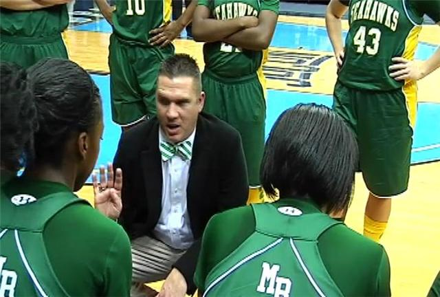 Myrtle Beach head coach Brian Kiper and his Lady Seahawks will defend their 3A title next weekend.