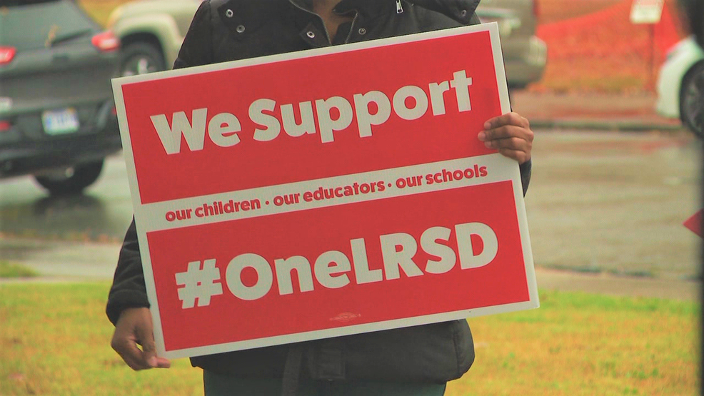 Teachers participating in a strike could face consequences, LRSD says