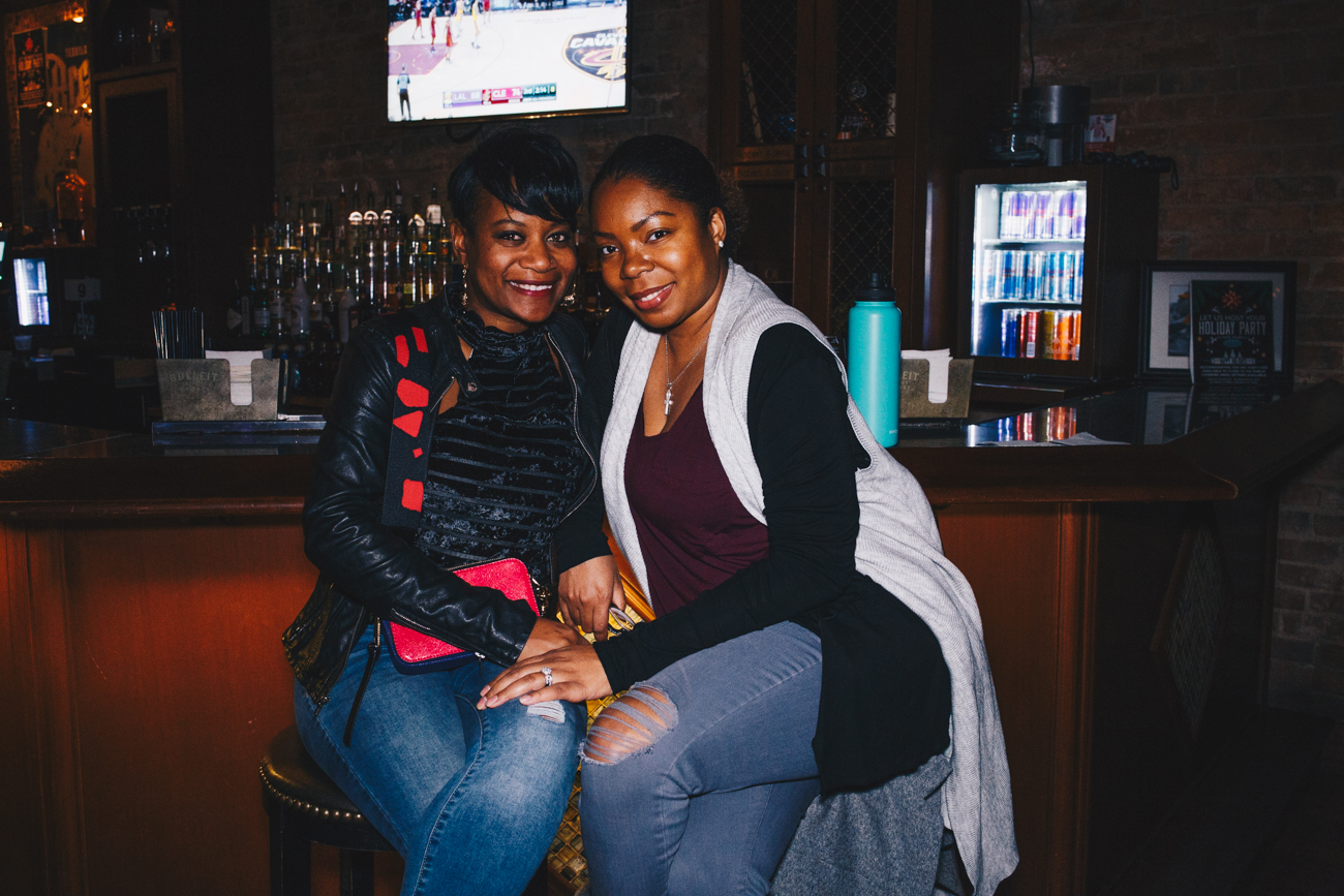 Fallon Lane and Anisha Bailey{ }at Scene Ultra Lounge / Image: Catherine Viox // Published: 11.22.18