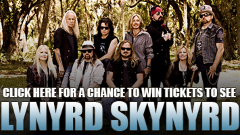 Lynyrd Skynyrd Stir Cove Ticket Giveaway