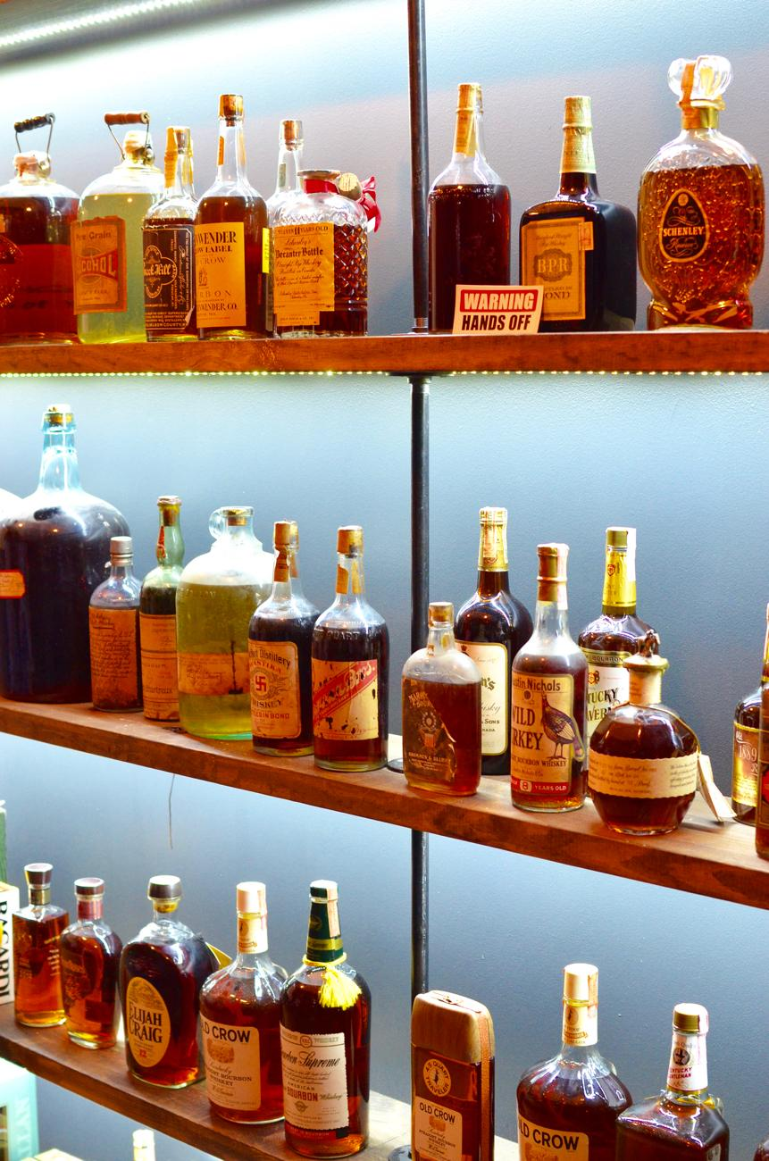 <p>Starting in January 2018, thanks to the passage of HB 100 in Kentucky, it's legal for liquor stores and bars to buy vintage spirits. Cork 'n Bottle (located in Crescent Springs, Kentucky) now has a Vintage Bourbon Library a few doors down from its store that is open by appointment only. Brad Bonds runs the library, which houses approximately 150 vintage bottles. The oldest bottle dates back to 1889. / Image: Leah Zipperstein, Cincinnati Refined // Published: 7.10.18</p>