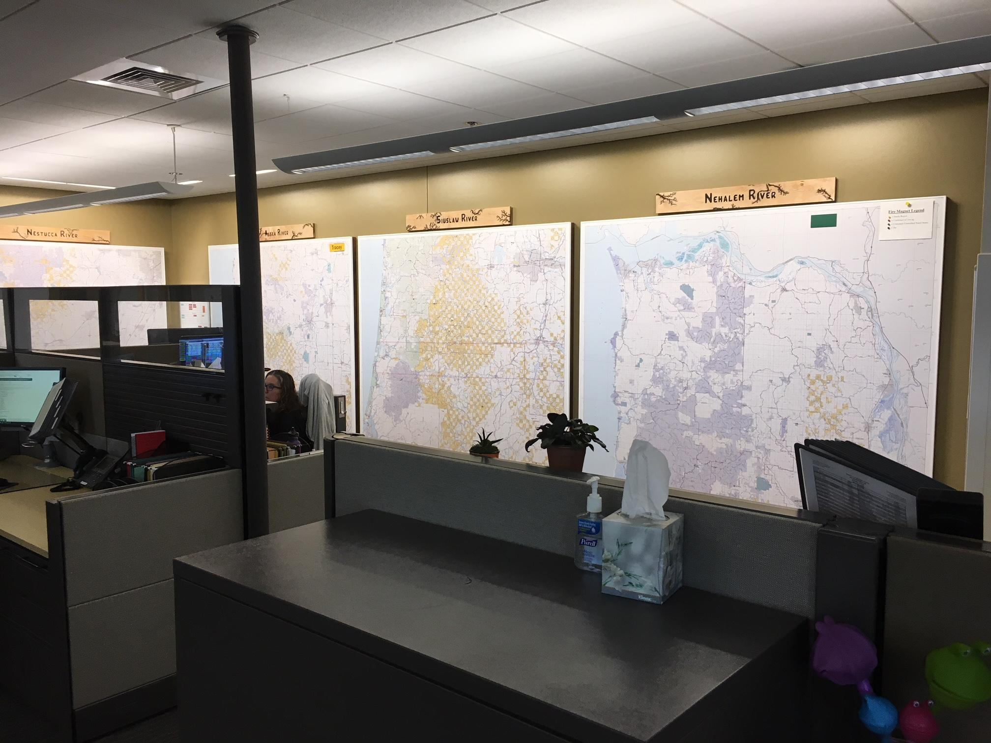 <p>Wildland firefighters anticipate &quot;above normal&quot; fire potential for parts of Oregon in July and August, according to the National Interagency Fire Center. The Forest Service and Bureau of Land Management have invested $750,000 in a new interagency communications center to help coordinate their response. (SBG)</p>