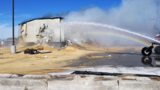 Equipment sparks fire at sawdust storage building in Cozad