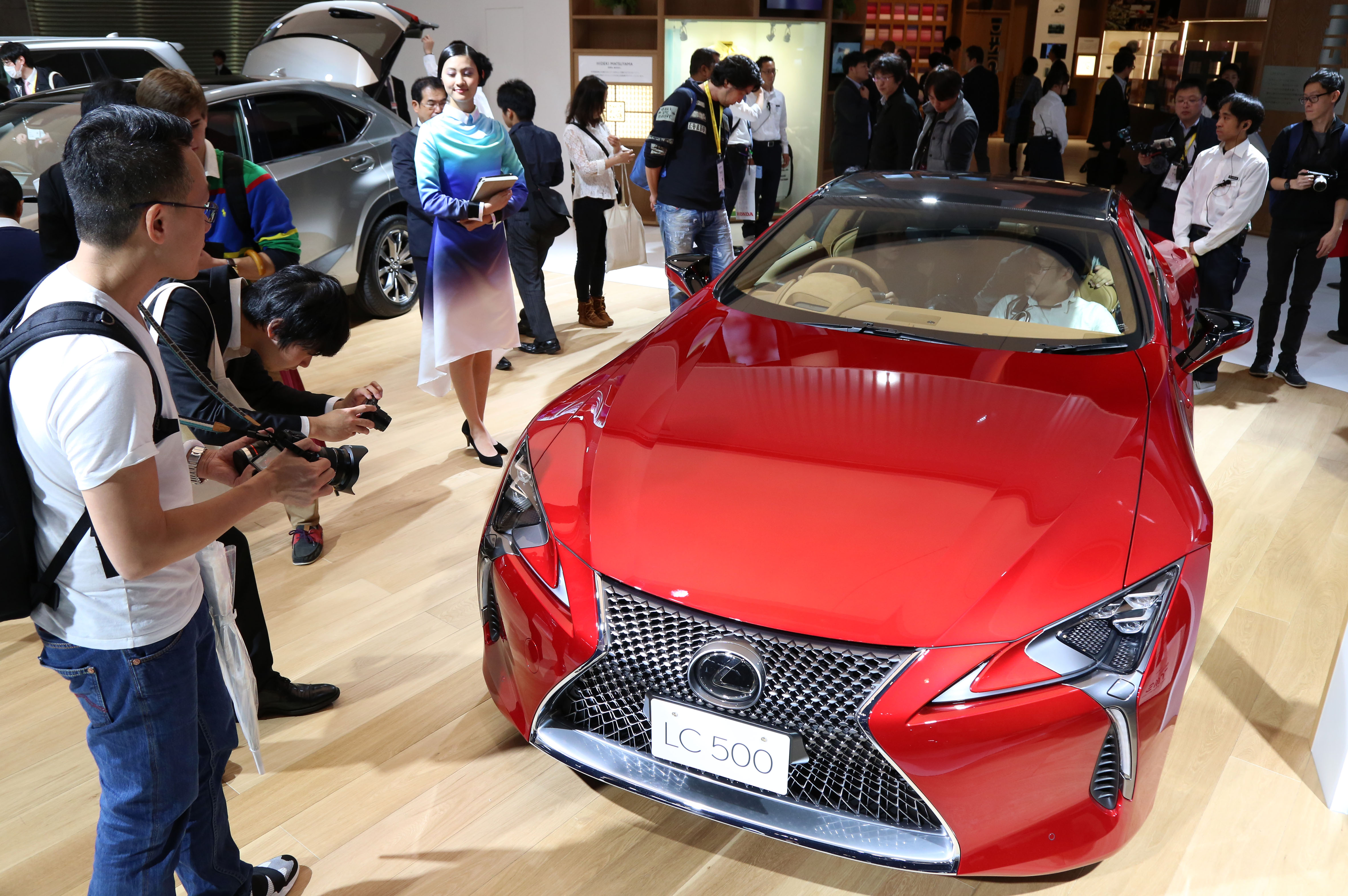 Tokyo Motor Show 2017  Featuring: Lexus LC 500 Where: Tokyo, Japan When: 25 Oct 2017 Credit: Yukio Tomita/Future Image/WENN.com  **Not available for publication in Germany**