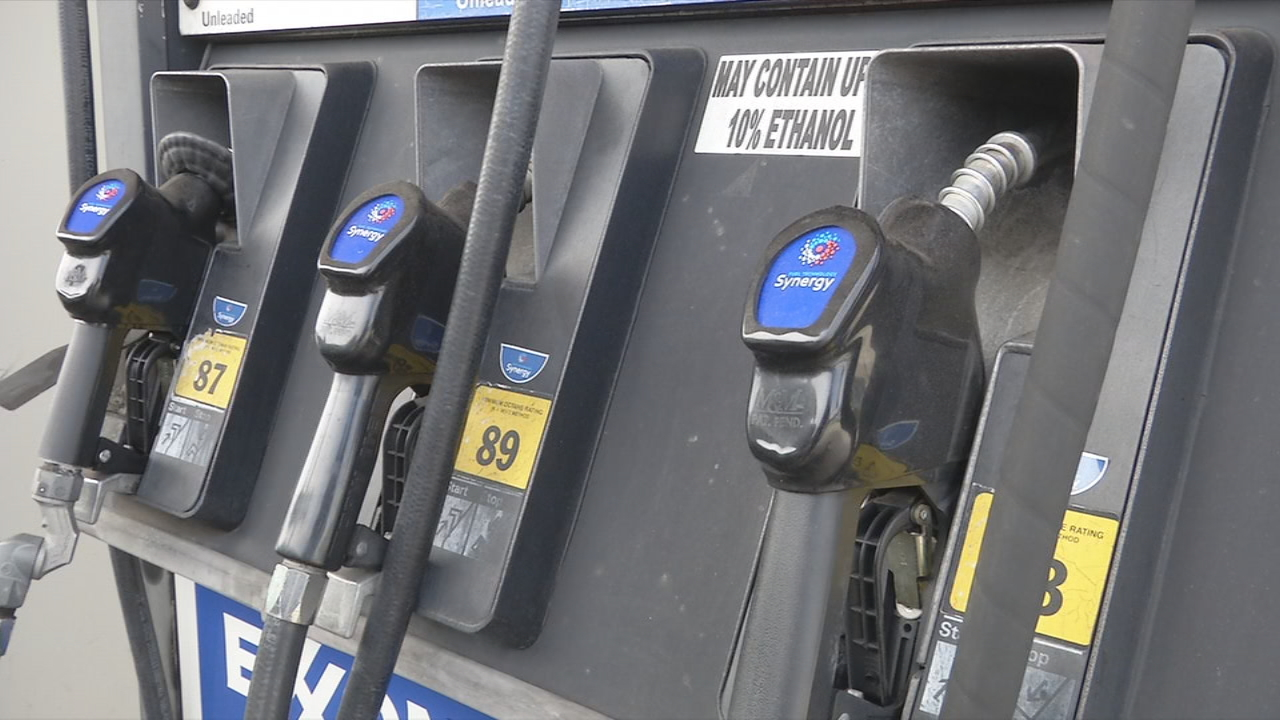 FILE - gas pumps. (Photo credit: WLOS staff)