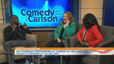 Former SNL member Jay Pharoah performing at Comedy @ the Carlson