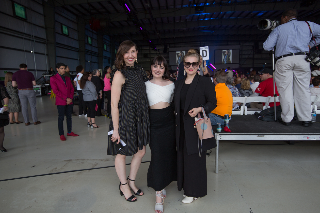 Stephanie Ammerman, Tessa Clark, and Madeline Tepe /{ }Image: Catherine Viox{ }// Published: 5.4.19