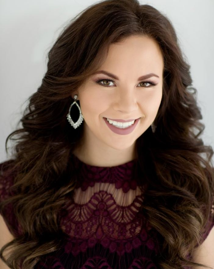 Kelly Hale award, Miss Utah Valley University Tanesha Bland (Photo: Miss Utah Org. Twitter @MissUtahOrg)