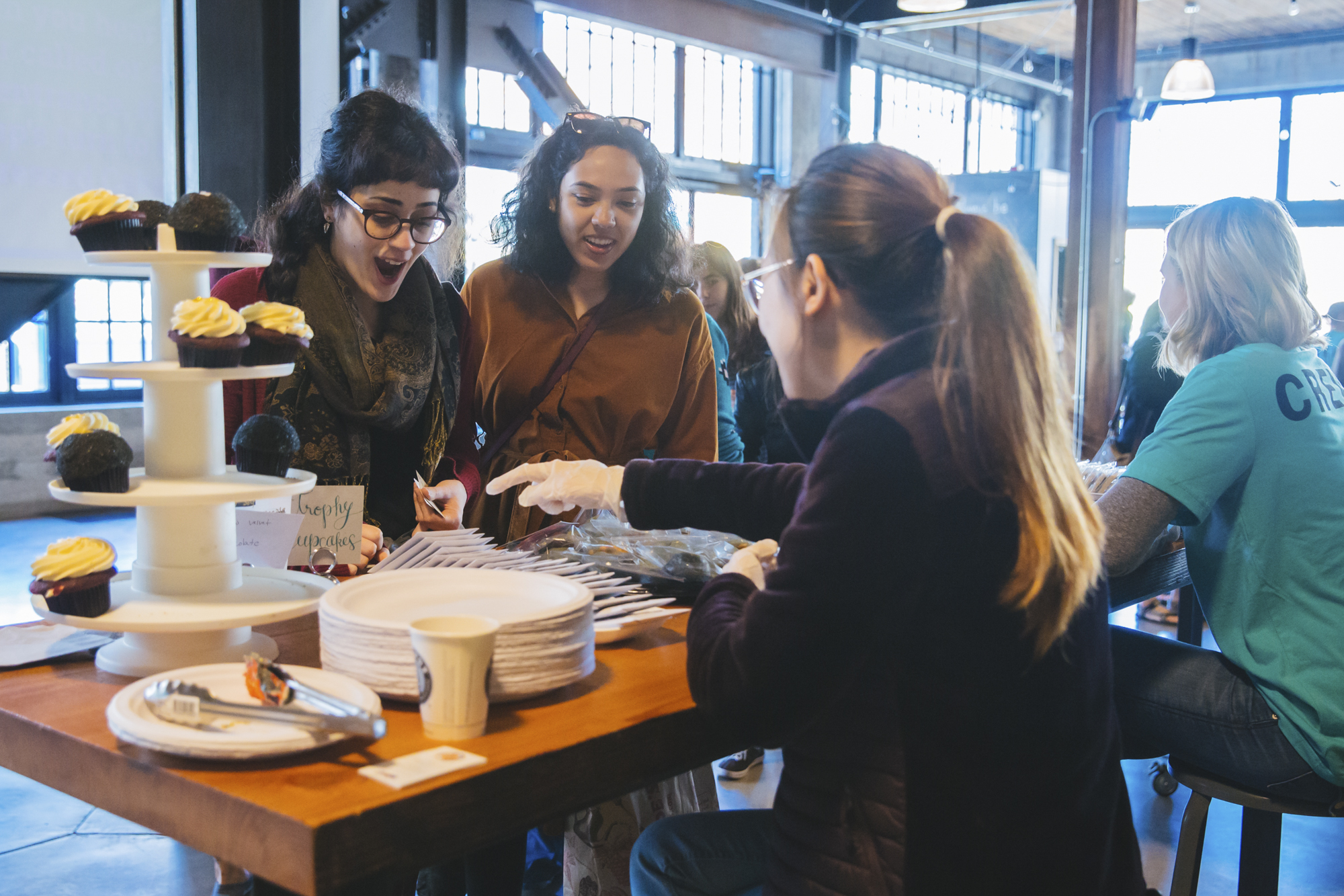 <p>In its sixth year,the sold out Depressed Cake Shop event came back in full force at OptimismBrewing in Capitol Hill on Saturday, October 13, 2018. The one-day pop-upbakery sells gray-colored cakes, cookies and other bakery items (all donated bylocal bakers) to raise awareness for and fight the stigma that can often comewith mental-health issues. The goodies are gray on the outside, but colorful onthe inside - to symbolize hope. All proceeds from the pop-up go to NAMISeattle. (Image: Sunita Martini / Seattle Refined){&amp;nbsp;}</p>