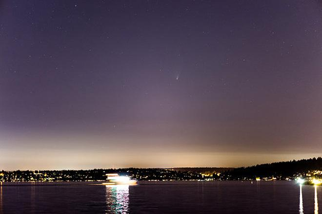 Comet PanSTARRS from Kirkland (Photo Courtesy YouNews contributor: davejcool)
