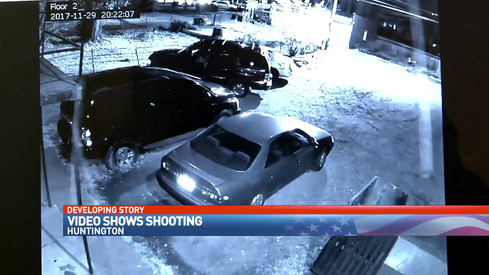Surveillance video shows neighbors taking cover as a 14 ...