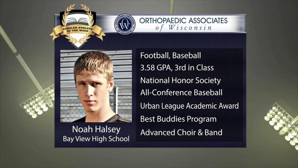 OAW 2017 Scholar Athlete Nominee: Noah Halsey