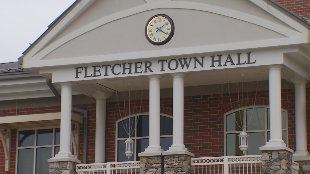 Voters in Fletcher elected a new mayor Tuesday. Rod Whiteside defeated longtime mayor Bill Moore with 55 percent of the vote. (Photo credit: WLOS staff)