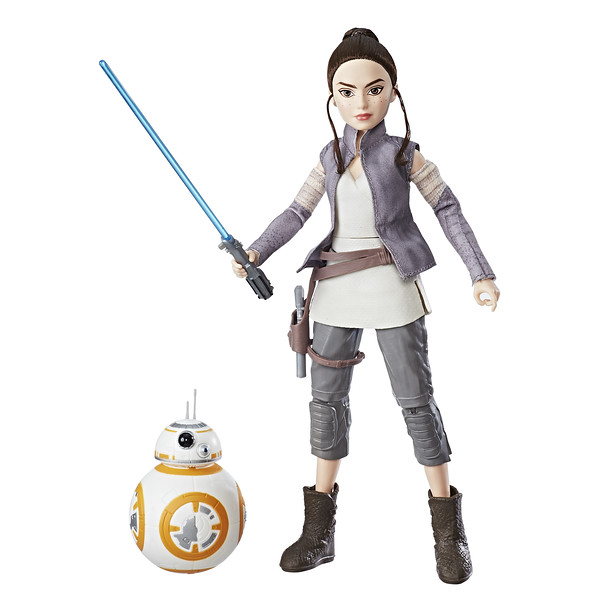STAR WARS FORCES OF DESTINY ADVENTURE: REY & BB-8 (Photo: Hasbro)