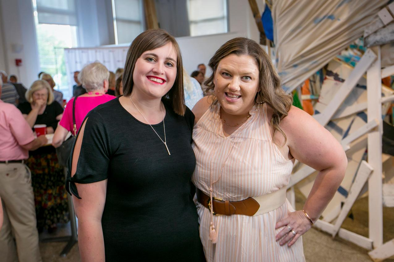 Kristin Turner and Rebecca Reckers{ }/ Image: Mike Bresnen Photography // Published: 6.17.18