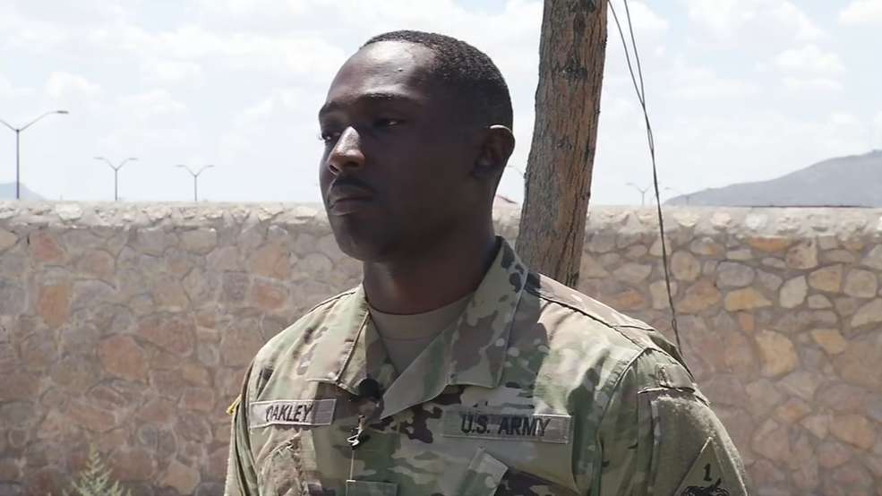 Ft. Bliss soldier who's story of heroism questioned arrested on military desertion warrant
