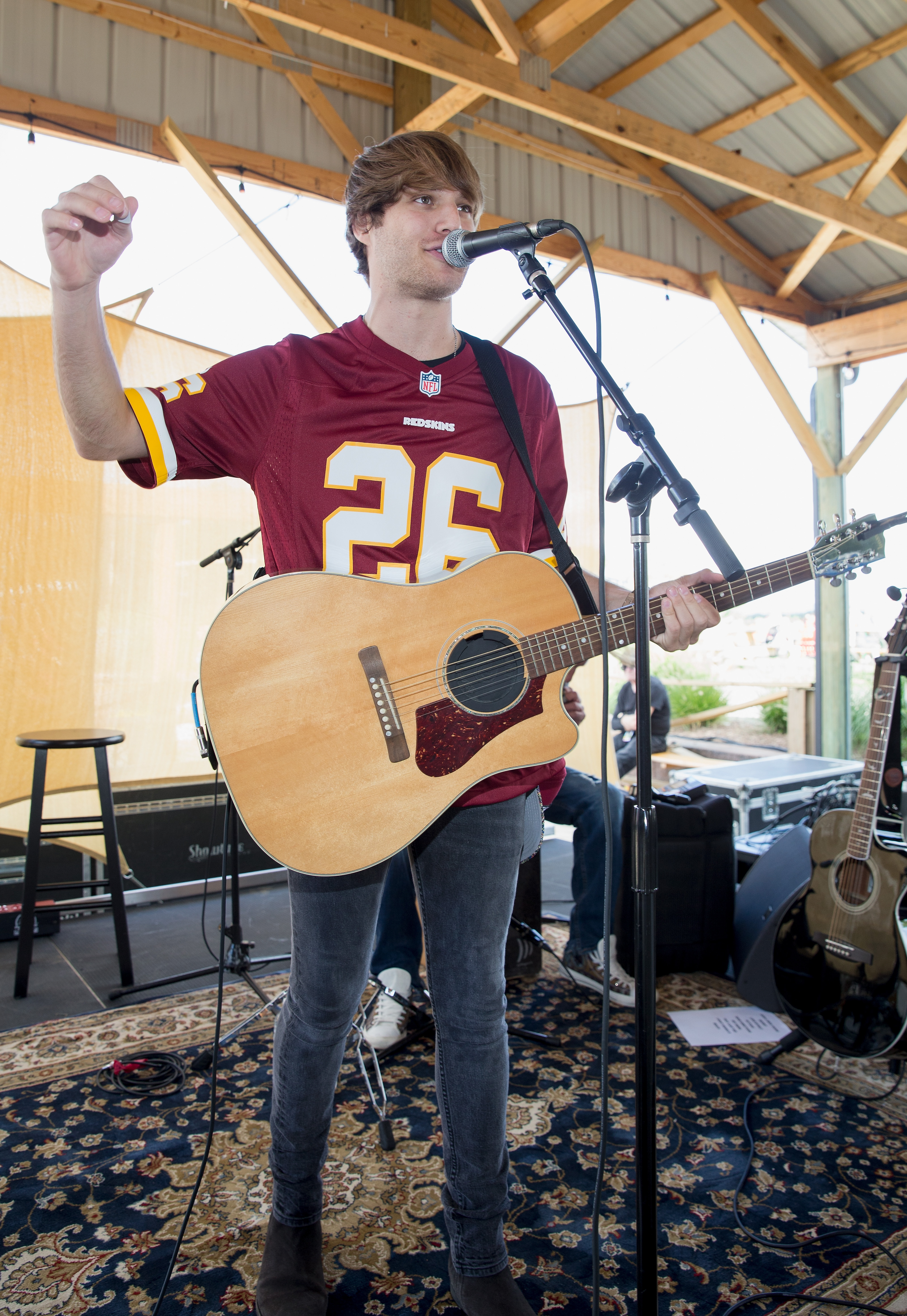"This weekend, Pepsi and the Washington Redskins celebrated the beginning of the NFL season with a kickoff concert in Leesburg, Virginia, featuring country music duo LOCASH and rising star Michael Tyler. Several NFL alumni were in attendance, including former Washington Redskins Wide Receiver Santana Moss and Offensive Tackle Chris Samuels. Select guests who wore burgundy and gold also won tickets to the season opener against the Philadelphia Eagles. Pepsi launched their full 2017 NFL campaign ""The Fun Doesn't End Zone"" last week, marking the beginning of the new season and championing the NFL's new relaxed rules on end zone celebrations. ""The Fun Doesn't End Zone"" aims to connect fans to the fun all season long through a host of off-the-field moments, promotions, pre-game festivities and entertaining content featuring NFL athletes. (Image: Tasos Katopodis/Getty Images for Pepsi)"