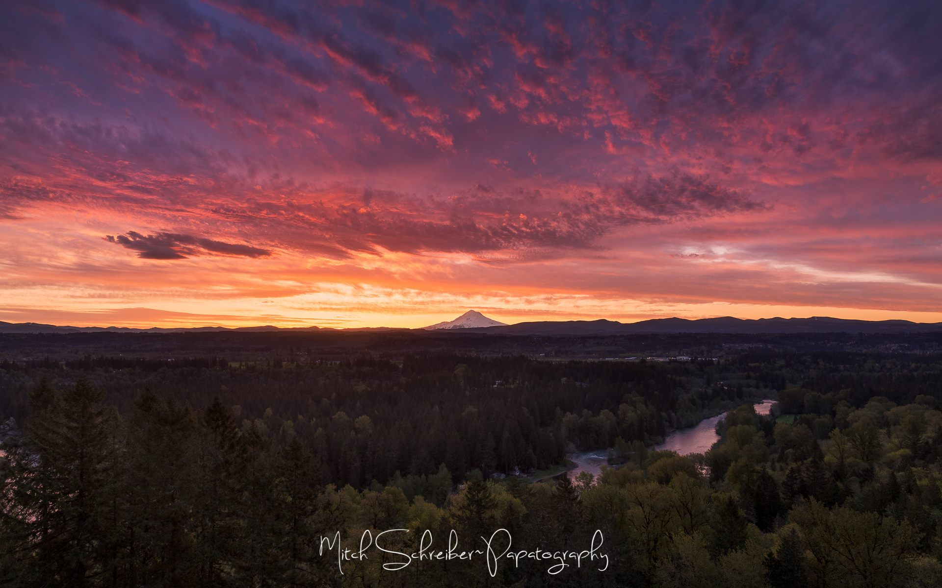 Mt. Hood at Sunrise from Mitch Schreiber Photography