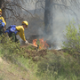 Rookie wildland firefighters get their first taste battling fire in the mountains