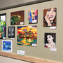 Art show displays 300 pieces from students at local high school