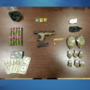 STOLEN GUN AND DRUGS|15-year-old arrested
