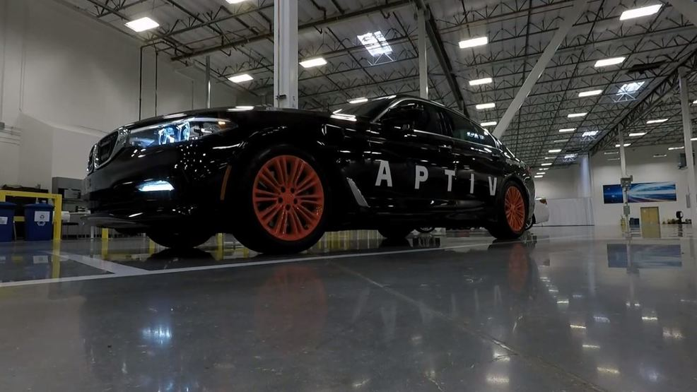Aptiv's self-driving cars hit 50,000 ride milestone in Las Vegas