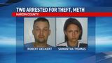 Two arrested in case linked to stolen trailer, meth found in Hardin County