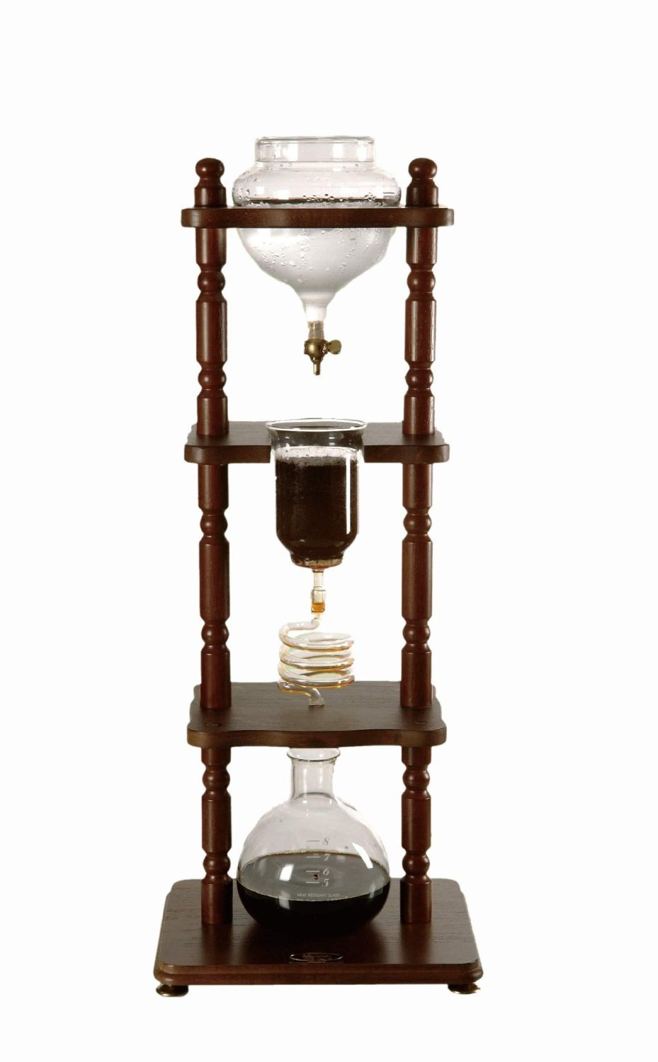 Japanese ice coffee is a special flavor, made in a precise way, using specialized equipment. The{&amp;nbsp;}Yama Glass Cold Drip Coffee Maker from Amazon brings home an acid-free iced coffee with a smooth flavor. This coffee maker is not only a great way to make coffee but it also{&amp;nbsp;}is a striking conversation piece.{&amp;nbsp;} (Image: Amazon.com)<p></p>