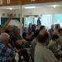 Residents get questions answered at meeting about the North Pelican Fire