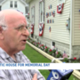 Cohoes home goes red, white and blue for Memorial Day