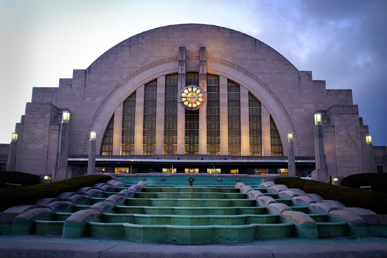 BUILDING: Union Terminal / LOCATION: 1301 Western Ave (45203) -- Queensgate / TIDBIT: The Art Deco-style Union Terminal was completed in 1933 and remains a beloved Cincinnati icon to this day. / IMAGE: Melissa Doss Sliney