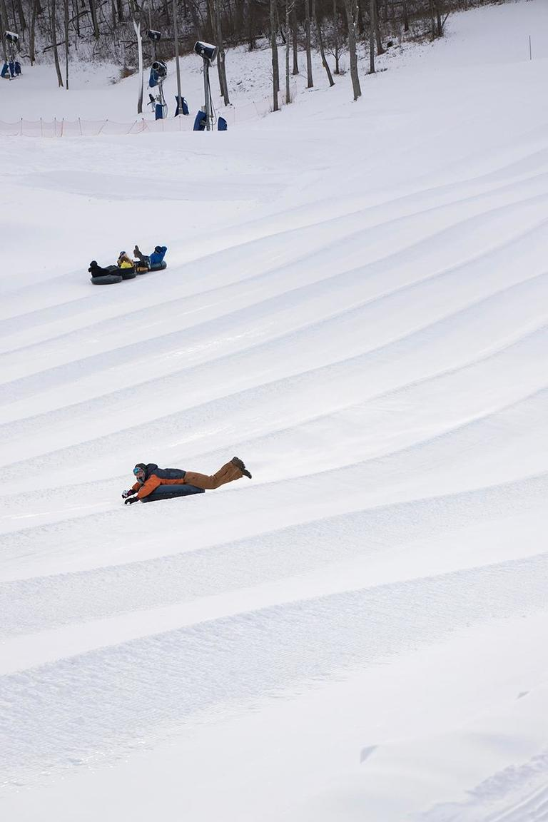 Perfect North Slopes, located in southeastern Indiana, offers slopes for skiing, snowboarding, and snow tubing. If you don't have equipment to do any snow-based activities, Perfect North offers rentals. It is one of the largest tubing areas in the country. ADDRESS: 19074 Perfect Lane, Lawrenceburg, IN 47025 / Image: Allison McAdams // Published: 1.17.18