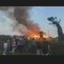 Firefighters battle large barn fire in Frederick on Saturday