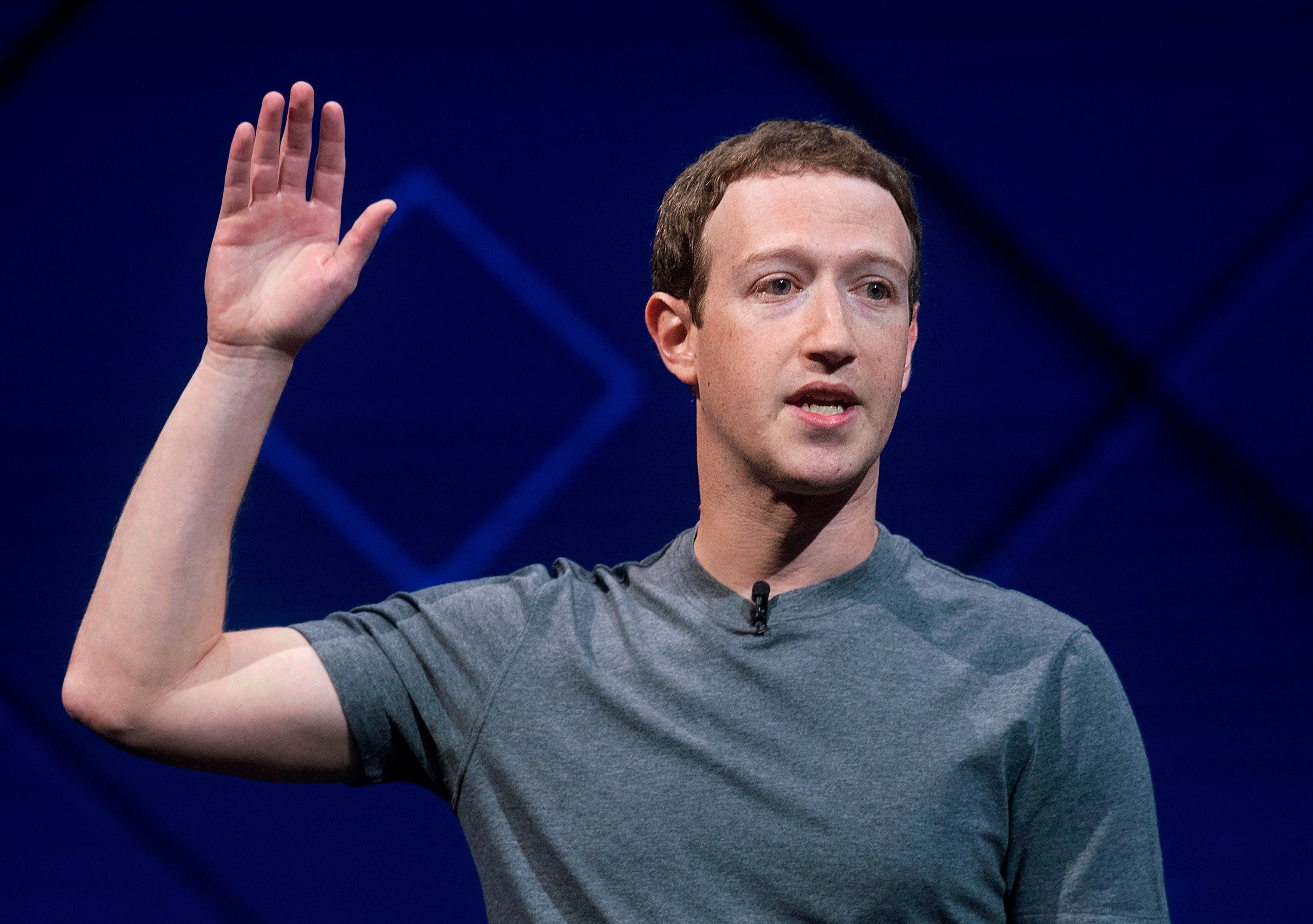 In this April 18, 2017 file photo, Facebook CEO Mark Zuckerberg speaks at his company's annual F8 developer conference in San Jose, Calif. The leaders of a key House oversight committee say Zuckerberg will testify before their panel on April 11. (AP Photo/Noah Berger, file)