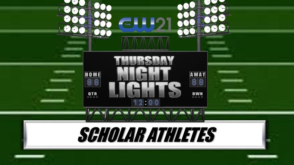 Thursday Night Lights to honor scholar athletes