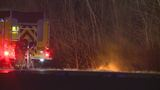 Fiery crash leads to I-75 northbound closure in Mt. Morris Township