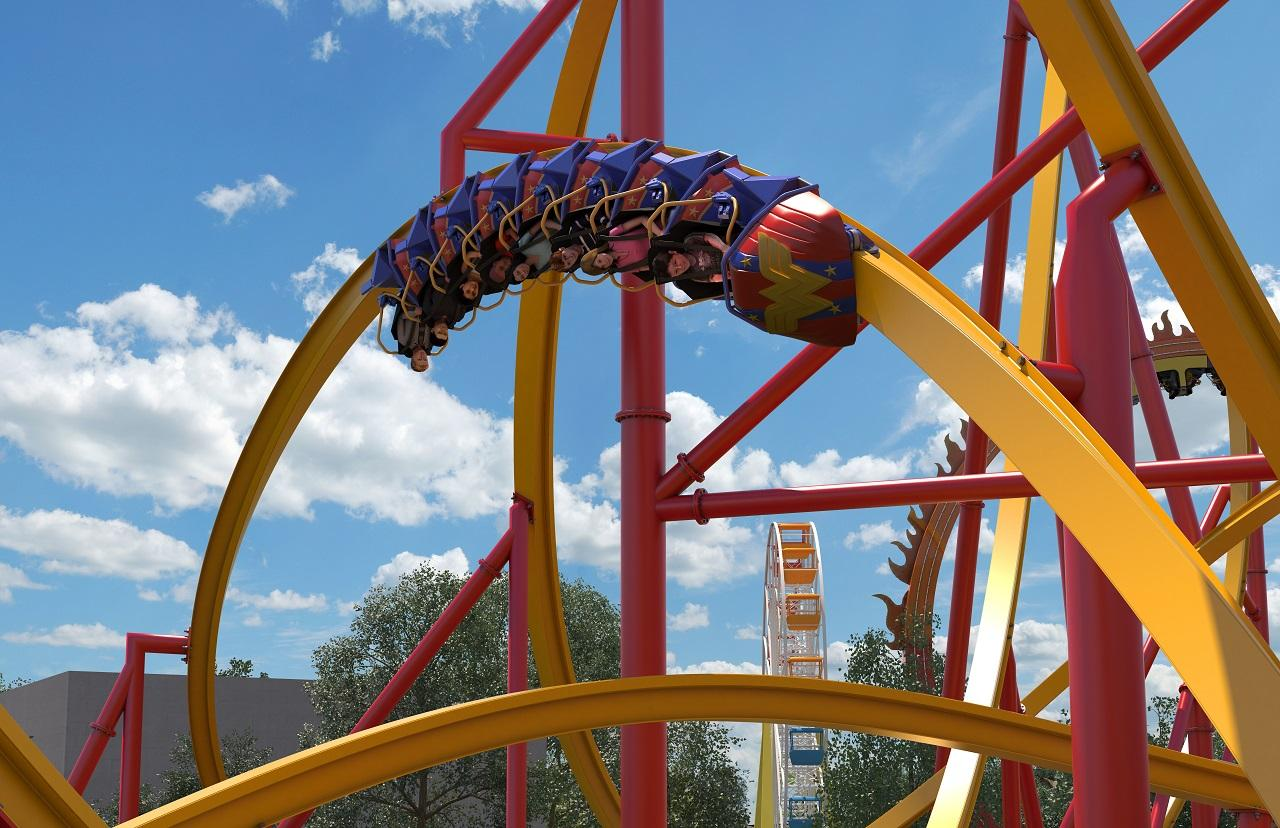 Fiesta Texas unveils plans for 'Wonder Woman Golden Lasso' coaster (Courtesy of Six Flags Fiesta Texas)