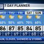 The Weather Authority | Tropical Moisture Hangs Around; More Showers/Storms