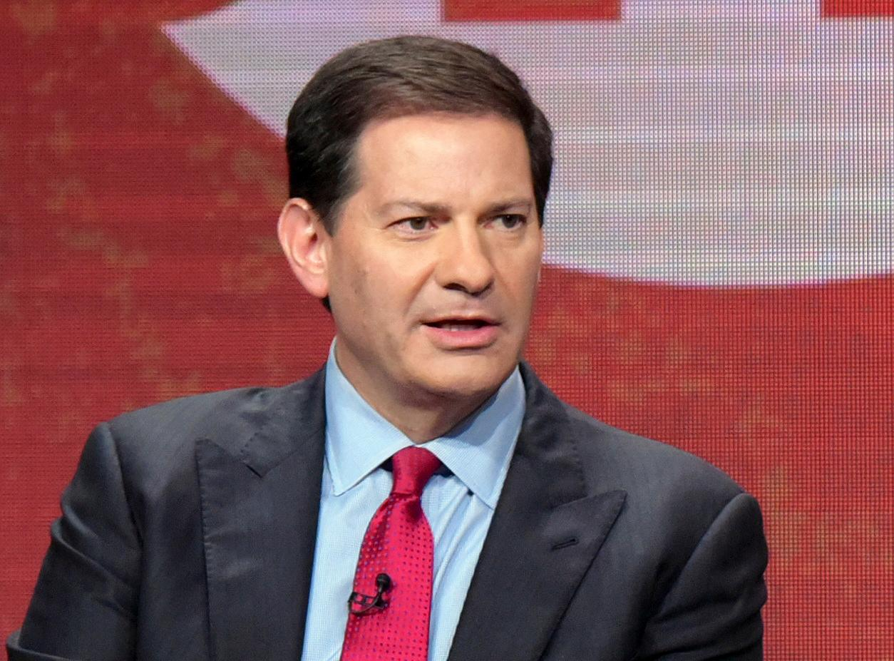 FILE - In this Aug. 11, 2016 file photo, author and producer Mark Halperin appears at the Showtime Critics Association summer press tour in Beverly Hills, Calif. (Photo by Richard Shotwell/Invision/AP, File)<p></p>